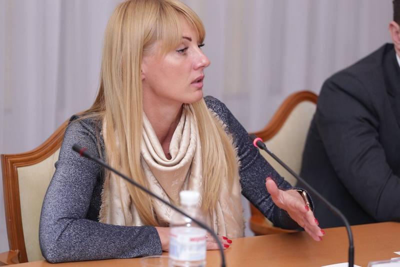 Світлана Глущенко - заступник Міністра юстиції