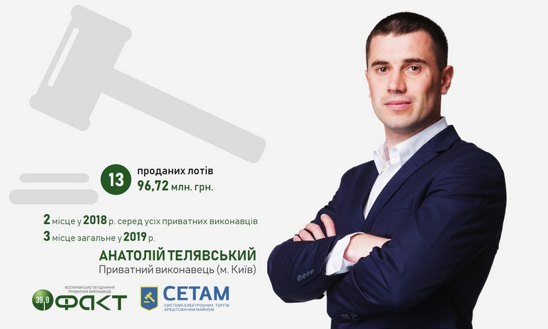 Приватний виконавець Анатолій Телявський - СЕТАМ